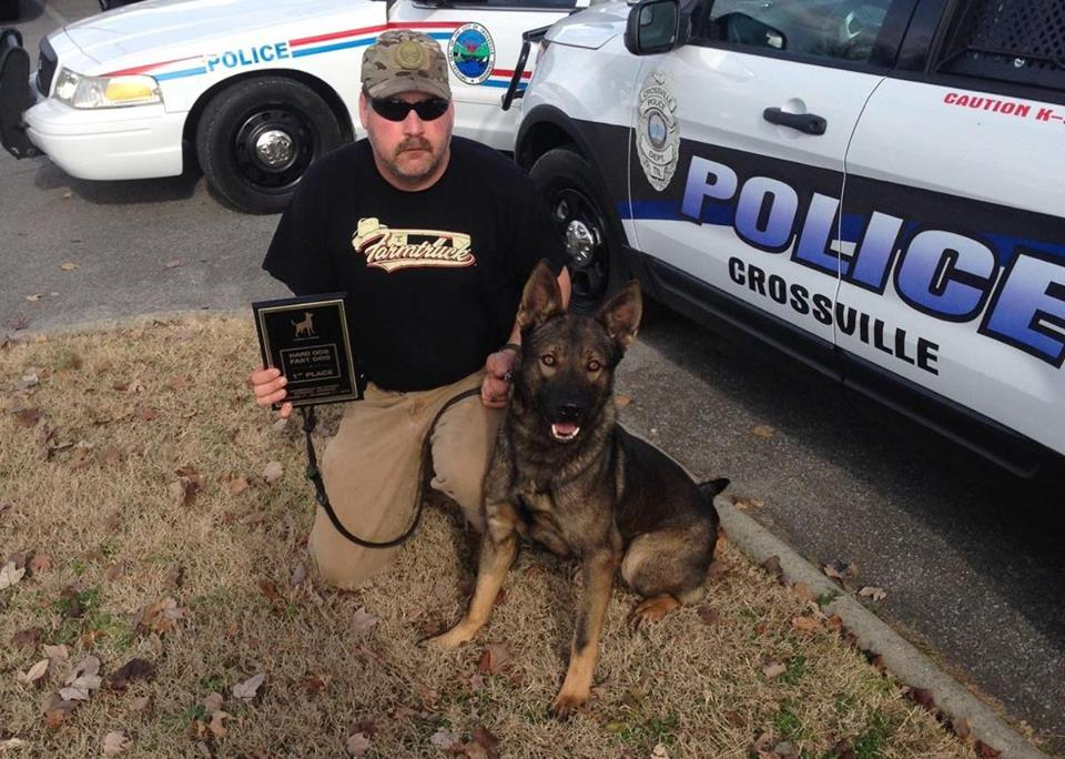 Jim young reporter crossville k 9 police dog killed in for Park place motors crossville tn