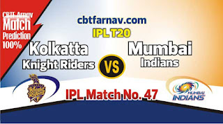 KKR vs MUM IPL 2019 47th Match Prediction Today Who Will Win