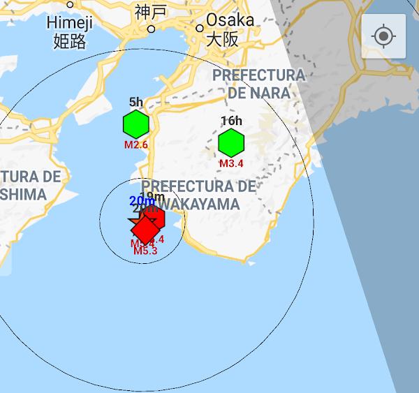 Sismo fuerte sacudio las costas de Japón.
