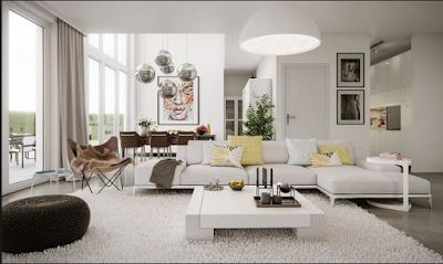 Desain Inspirasi  Ruang Keluarga Terupdate  Untuk Rumah Minimalis 11