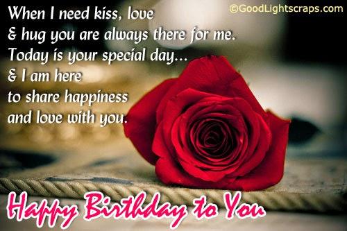 Birthday Wishes Lover