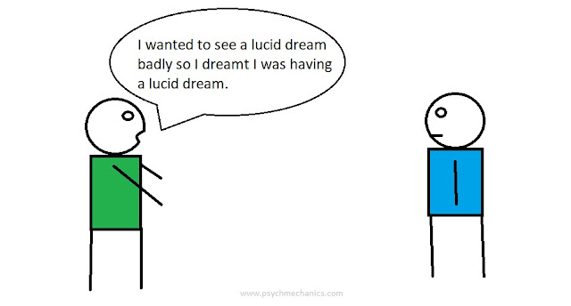 how to lucid dream cartoon