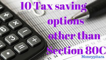 Best tax saving options 80c