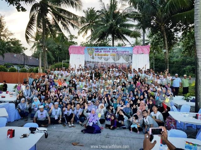 Hari Kedua Road Trip Thailand: Program Jalinan Mahabah Kali Ke-2 Keluarga Besar Haji Wan Mustafa Al-Fathani