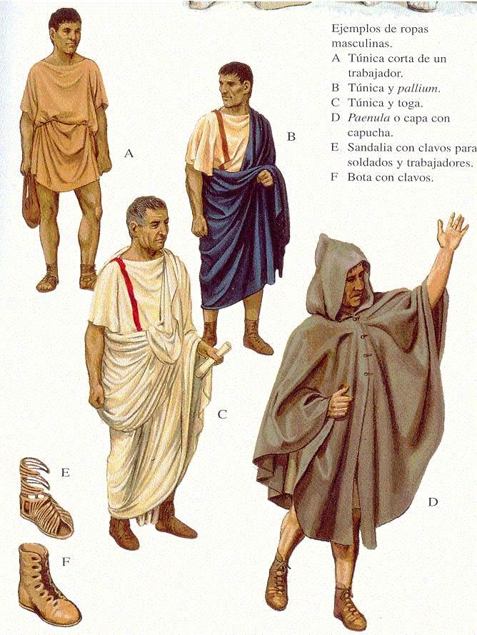 bddf8dcda Arte_Historia_Estudios: Capítulo 11 - Vestimenta romana