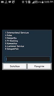 unreg layanan sms tidak telas im3 mentari