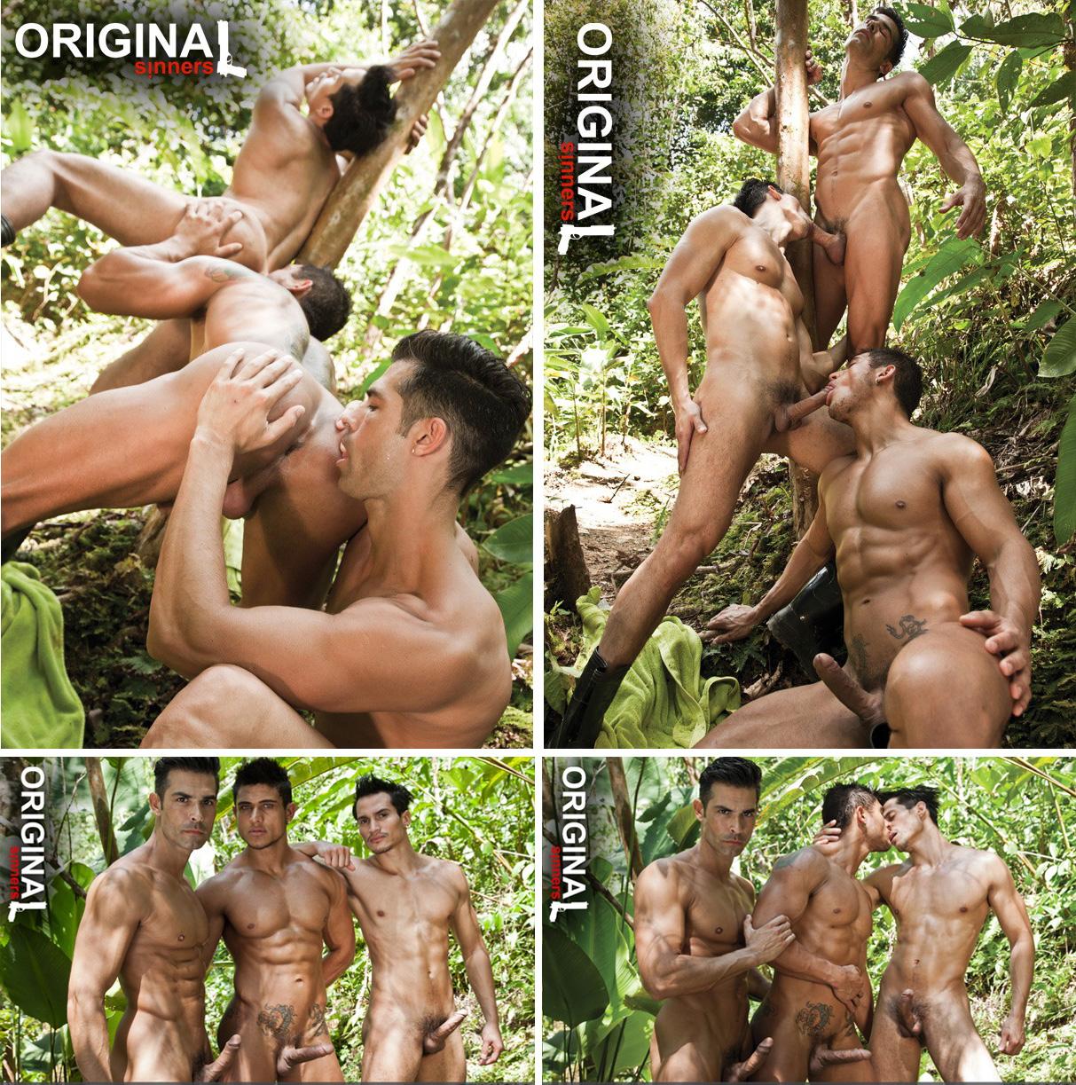 Trio sexo gay D.O, Tiziano e Diego