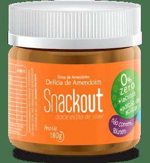 Sem lactose,Sem Glúten,Sem Açúcar são os doces da  Snackout