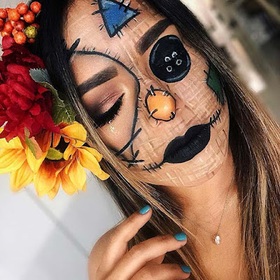 ll notice such a large amount of superb concepts from vampires to ghosts and shuddery moti ✘ 22+ Latest Scarecrow Halloween Makeup Ideas To Copy In 2020