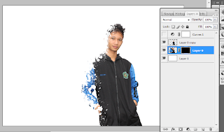 Membuat efek dispersion di photoshop