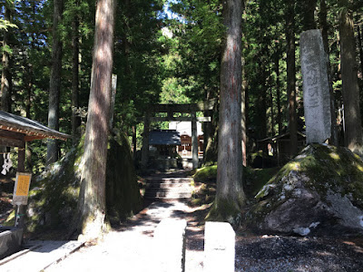 尾白川渓谷 駒ヶ岳神社