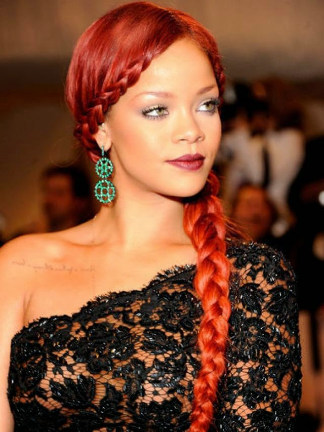 Rihanna Braid Hairstyles Hairstyles And Haircuts