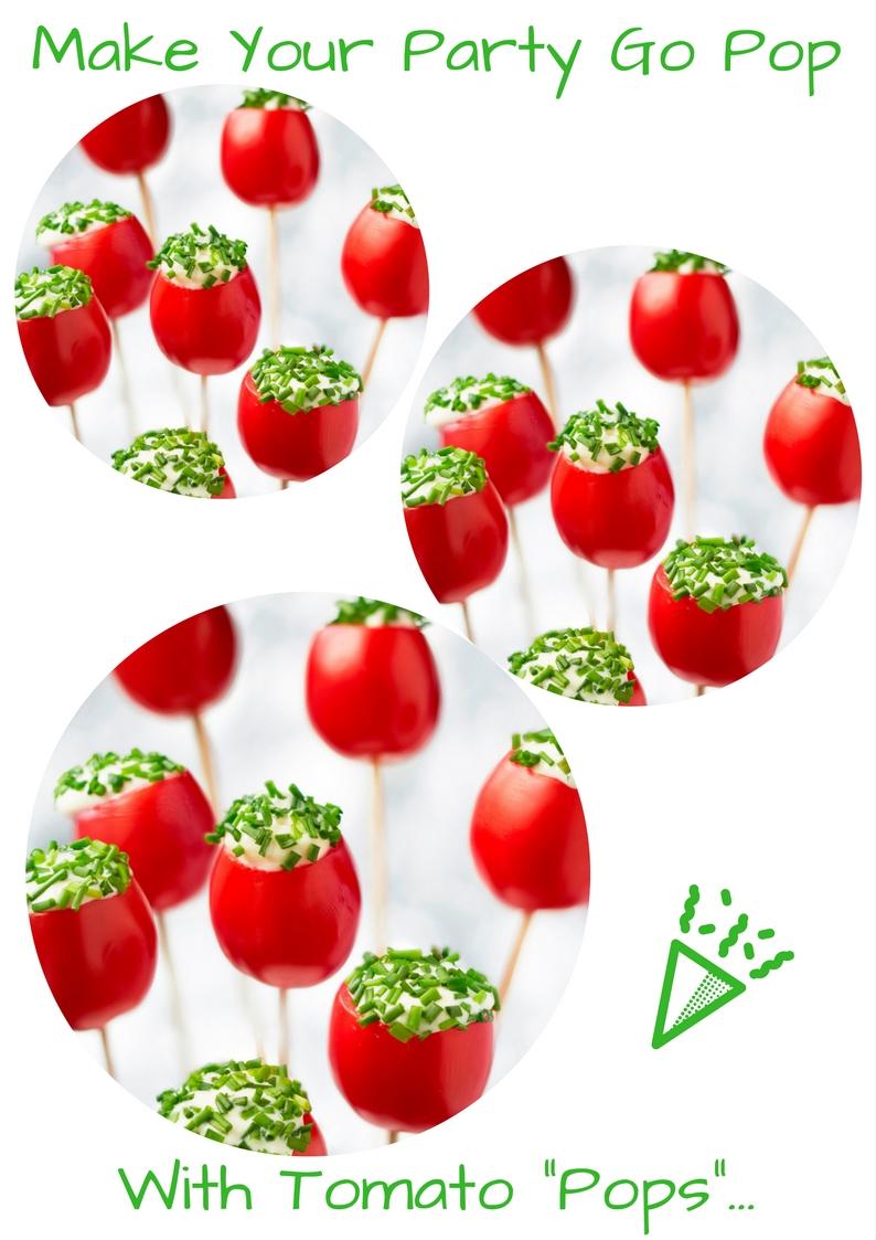 """Tomato """"Pops"""""""