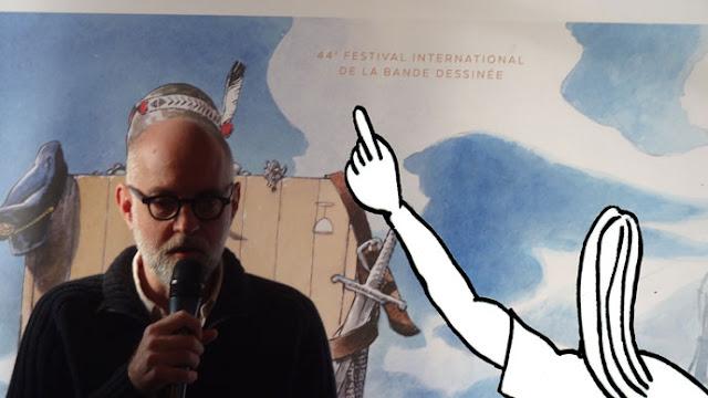 Angoulême FIBD 2017, rencontre de Zéda avec Daniel Clowes !