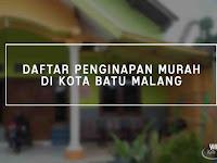 Daftar Harga Sewa Penginapan Murah di Batu Malang