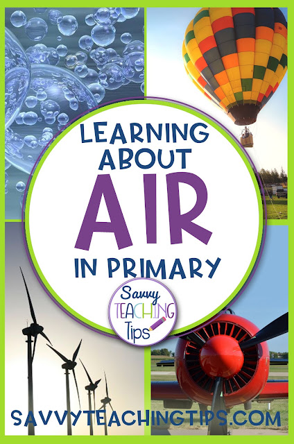 There are great ideas for teaching about air.  There are experiments, ELL and critical thinking activities.