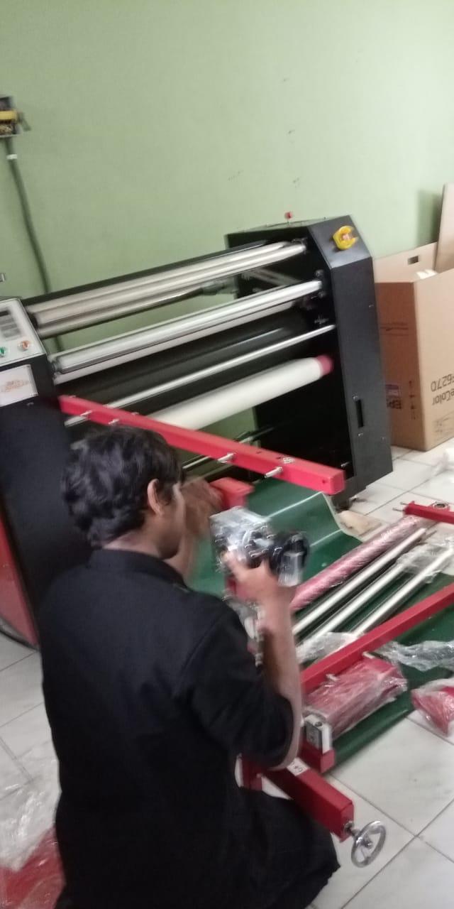 Mesin percetakan tali lanyard berkualitas di Jakarta