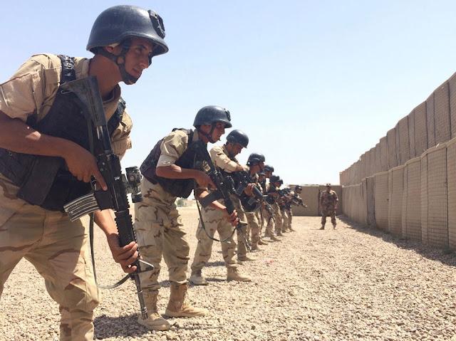 El EZAPAC inicia su misión de formación de operaciones especiales al ejército iraquí