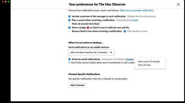 Cara Mengatur Notifikasi Slack di macOS dan iOS