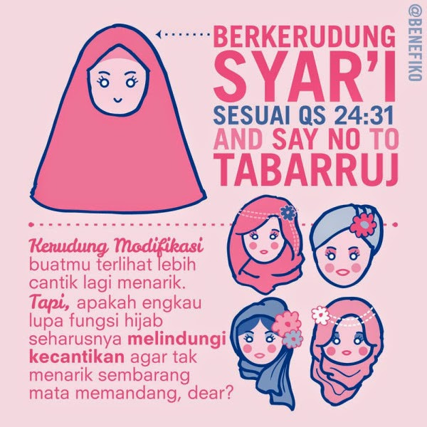 gambar dp bbm hijab syar'i