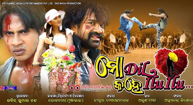 Mo Dil Kahe ILU ILU (ମୋ ଦିଲ୍ କହେ ଇଲୁ ଇଲୁ) - 2015 Odia Action film
