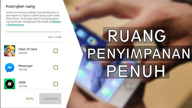 Ruang Penyimpanan Internal Android
