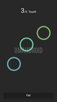 Melakukan pengecekan layar Zenfone MultiTouch