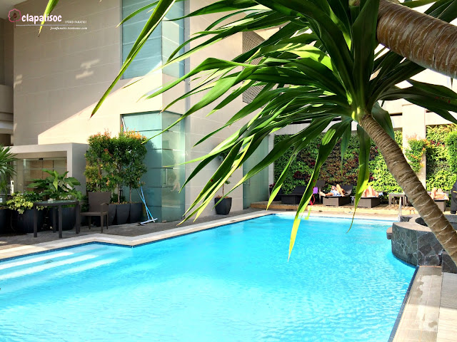 Roofdeck pool at City Garden Hotel Makati