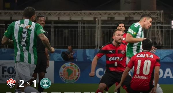Vitória vence o Coritiba na estreia da Sul-Americana 2016