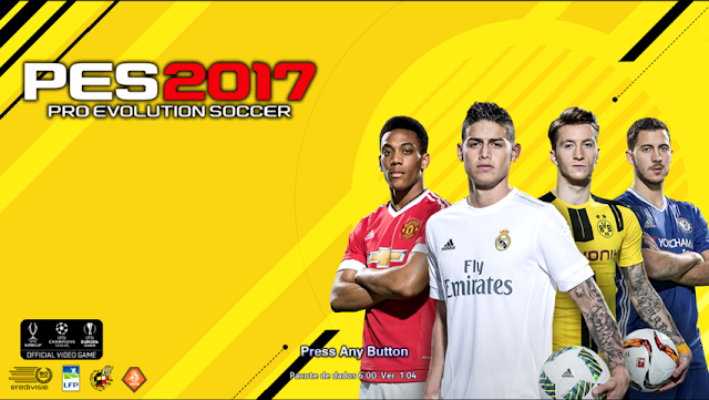 FIFA 17 Start Screen For PES 2013