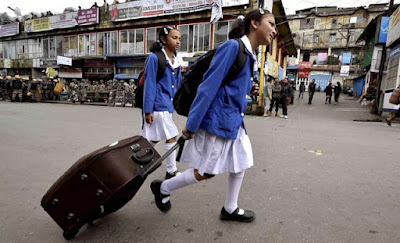 School students in Darjeeling indefinite strike