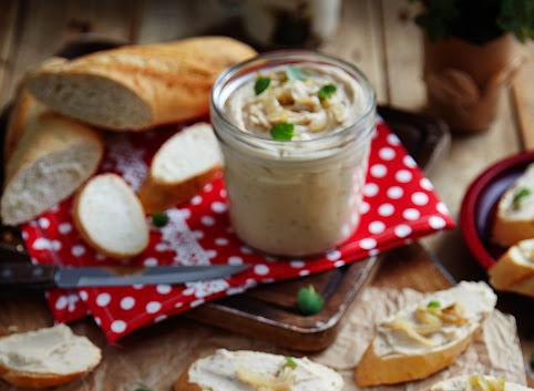 Pasta z fasoli i karmelizowanej cebuli
