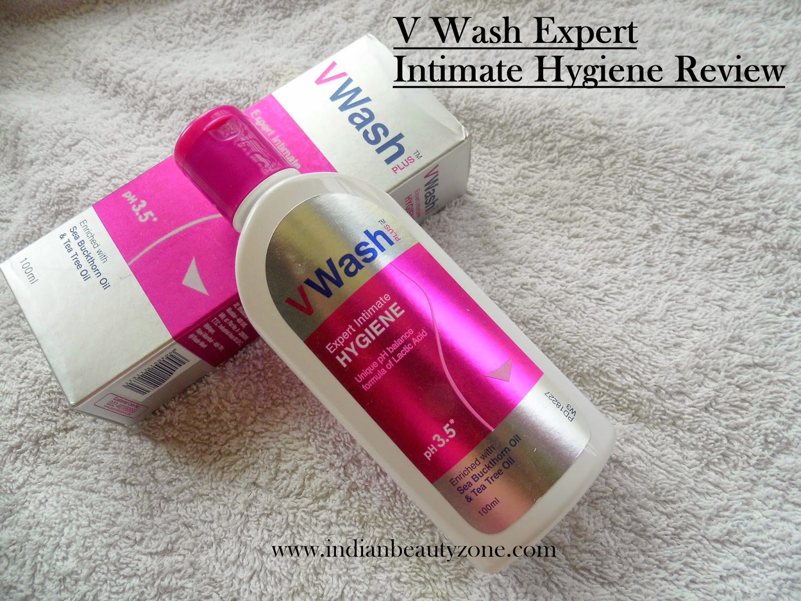 Intimate washes for women