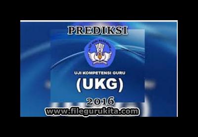 Latihan Soal UKG 2016 SD/MI Jejang Kelas Tinggi dan Kelas Rendah