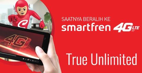 Setting APN Smartfren 4G Unlimited Agar Tidak Terkena FUP