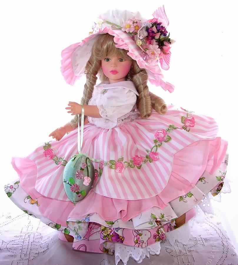 Открытка кукла