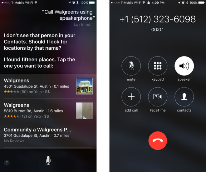 19095-19010-ios10-speakerphonecall-l How to Call a Contact With Siri Technology