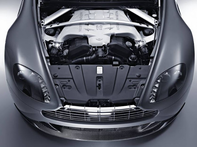 2017 Aston Martin Vantage Engine
