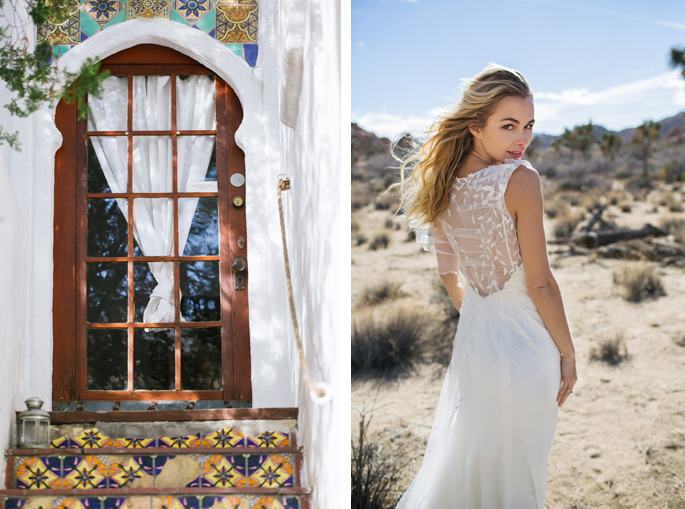 Honeymoon ideas / Photography: Kacie Q. Photography / Styling + Planning: Katalin Green / Swimwear: Nicolita Swimwear / Location: Korakia Pensione, Palm Springs and Joshua Tree / Necklace: Mountainside Designs / Ring: Fly Free Designs / Headpiece: Jennifer Behr / Flowers: Katalin Green + Mac's Floral