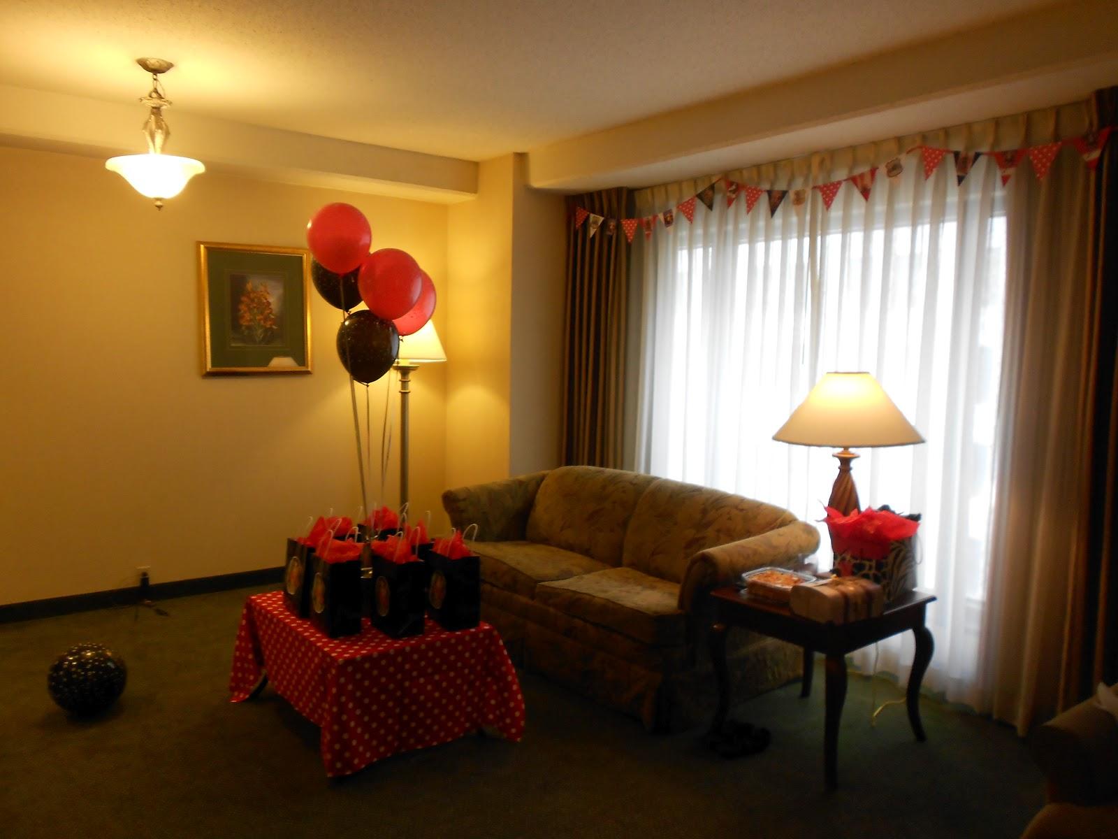 Wedding Night Hotel Room Decorations - Home Decorating Ideas