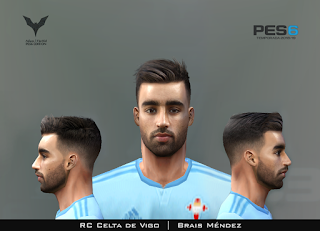 PES 6 Faces Brais Méndez by Adam & The Kid Facemaker