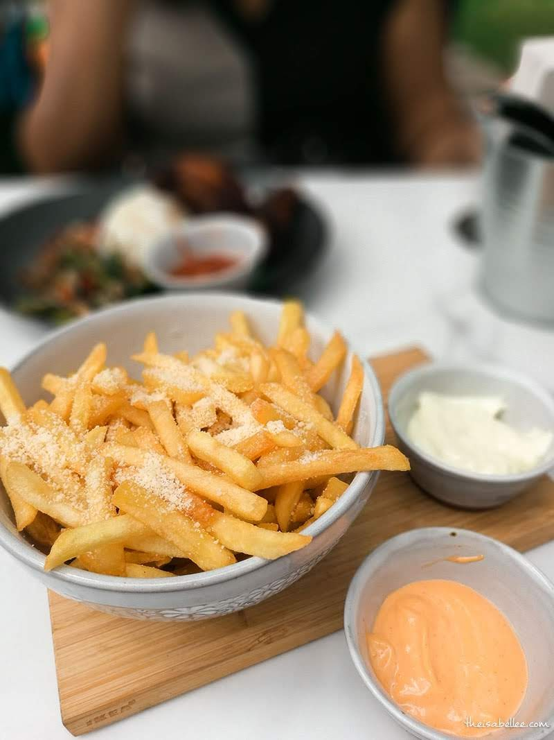 Pokok KL @ Mahsa Avenue truffle fries