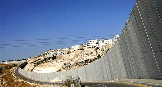 Resultado de imagem para muro construido na palestina