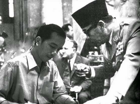 Soekarno Jokowi