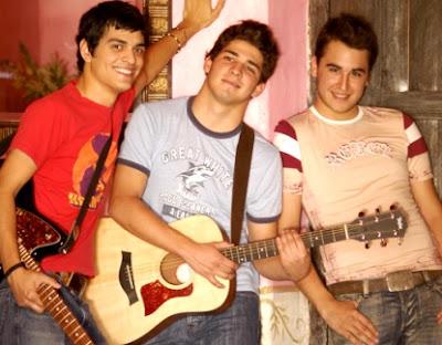 Foto del grupo Reik en sus inicios