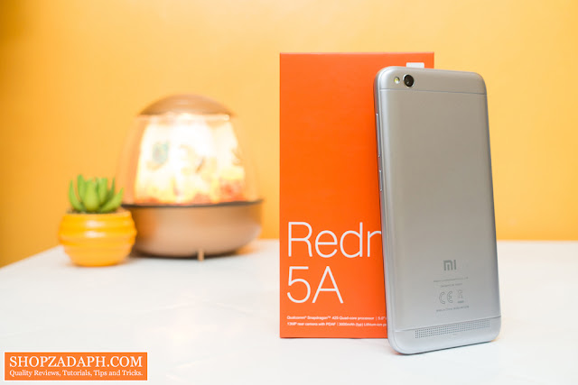 xiaomi redmi 5a unboxing and first impressions