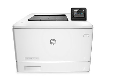This printer wakes upward as well as prints faster than the contest HP LaserJet Pro M452dw Driver Downloads