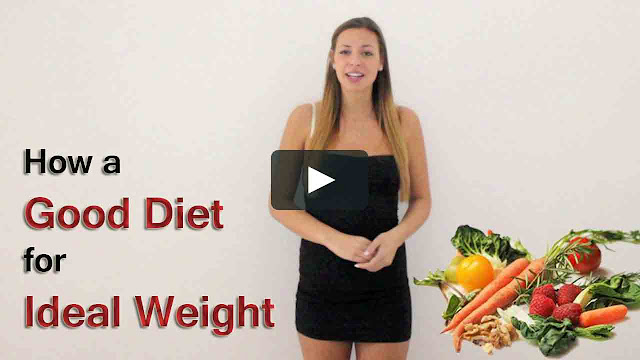 How a Good Diet for Ideal Weight