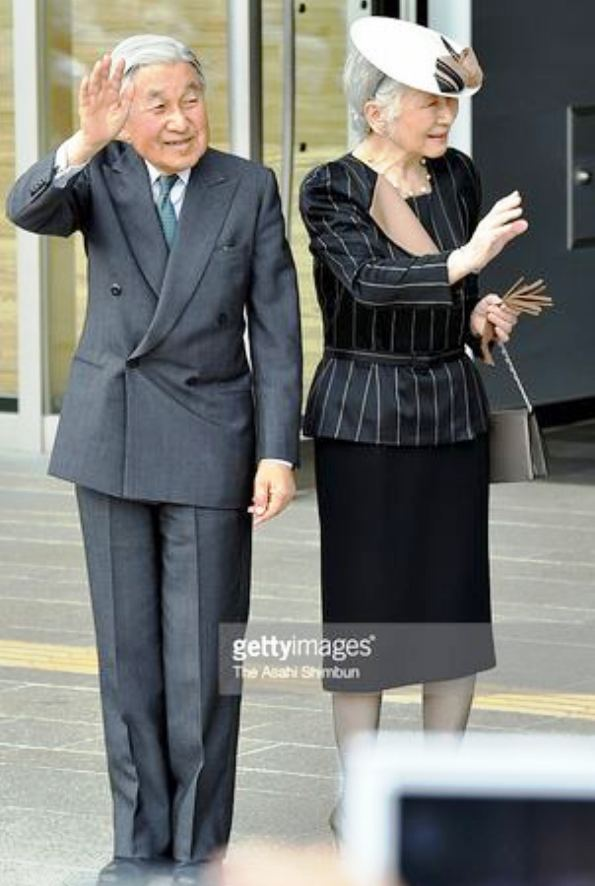 Imperial Royal Couple In Toyama For The 35th National Healthy Ocean Meetings