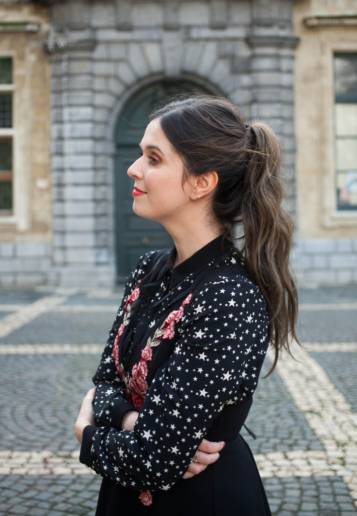 Outfit: printmixing flowers and stars